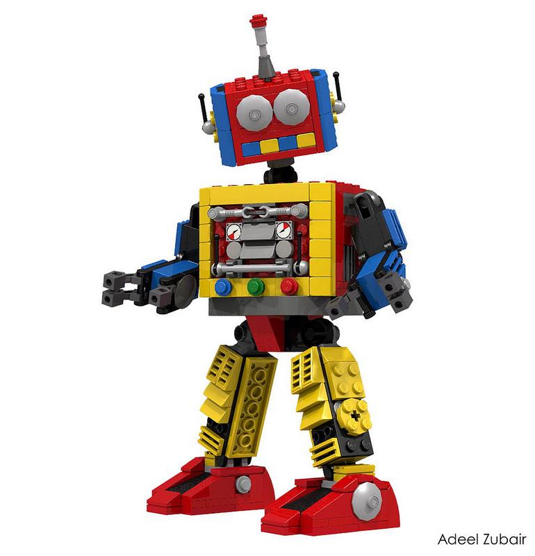 Star Wars Lego Robot Clipart.