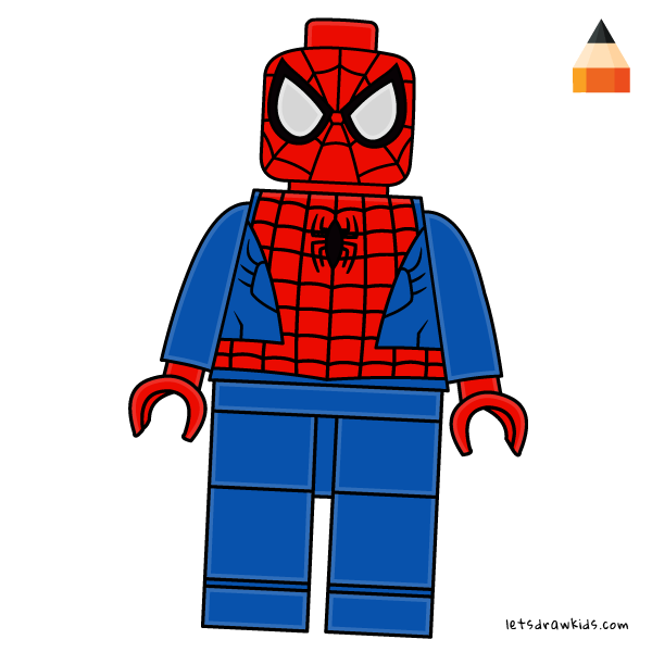 How To Draw How To Draw LEGO Spiderman.