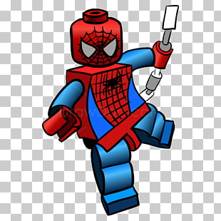 103 lego Spiderman PNG cliparts for free download.