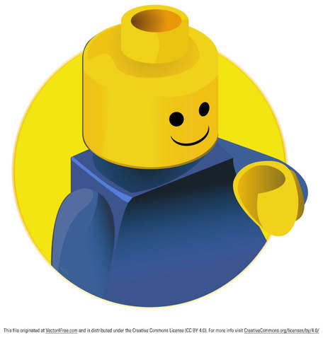 Lego Brick Clip Art, Vector Lego Brick.