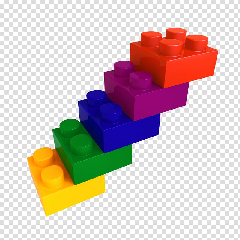 Lego minifigure Toy block , stair transparent background PNG.