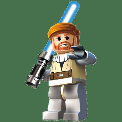 Lego Yoda transparent PNG.