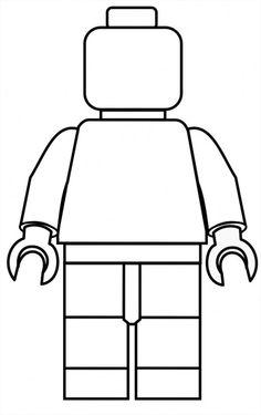 Lego Head template http://www.clker.com/clipart.