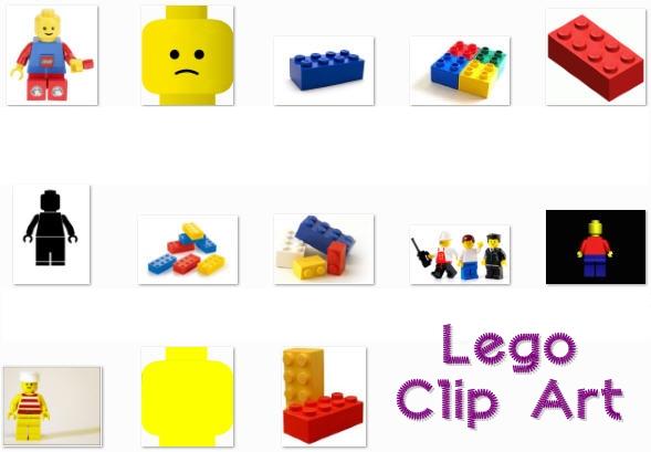 Free Lego Clip Art.