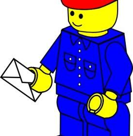 LEGO Stadt Polizist ClipArt.