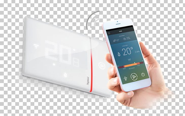 Smartphone Thermostat Legrand Feature Phone Electrical.
