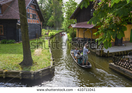 Spreewald Stock Photos, Royalty.