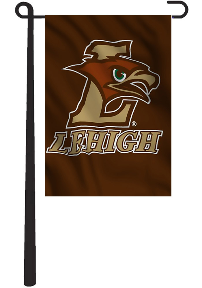 Lehigh University Team Logo Garden Flag.