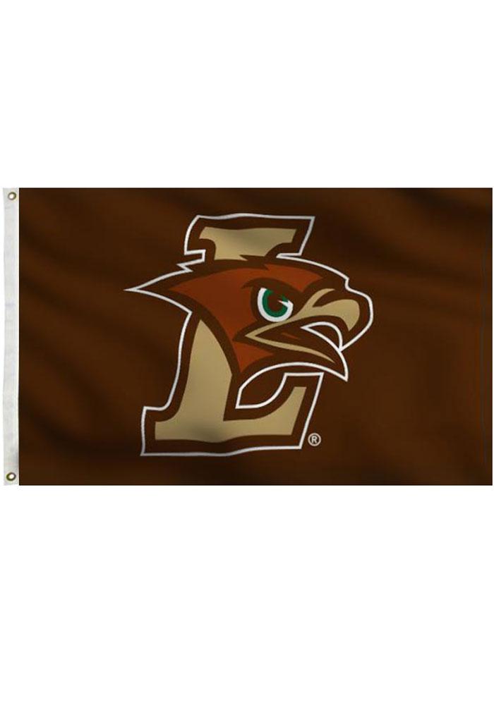 Lehigh University Team Logo Grommet Brown Silk Screen Grommet Flag.