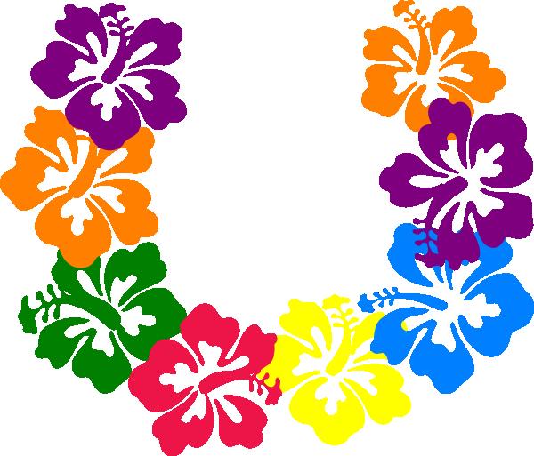 Hibiscus Flowers Lei Clip Art at Clker.com.