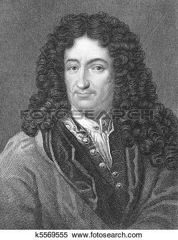 Stock Image of Gottfried Leibniz k5569555.