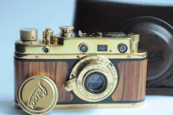LEICA II Olympiada Berlin 1936 FED Copy Camera by anticfotosoviet.