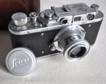 Leica II engraving Olympiada Berlin 1936 in gold.
