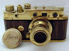 Details about VINTAGE RUSSIAN 35MM RF GOLD CAMERA LEICA.