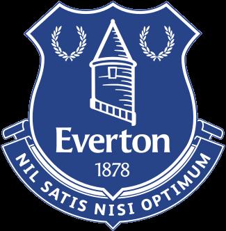 Everton Logo transparent PNG.