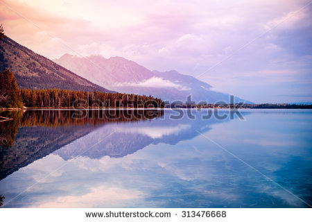 "lakes In Wyoming"" Stock Photos, Royalty."