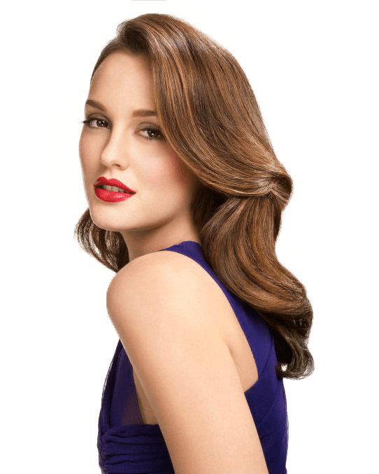 Leighton Meester Side View transparent PNG.