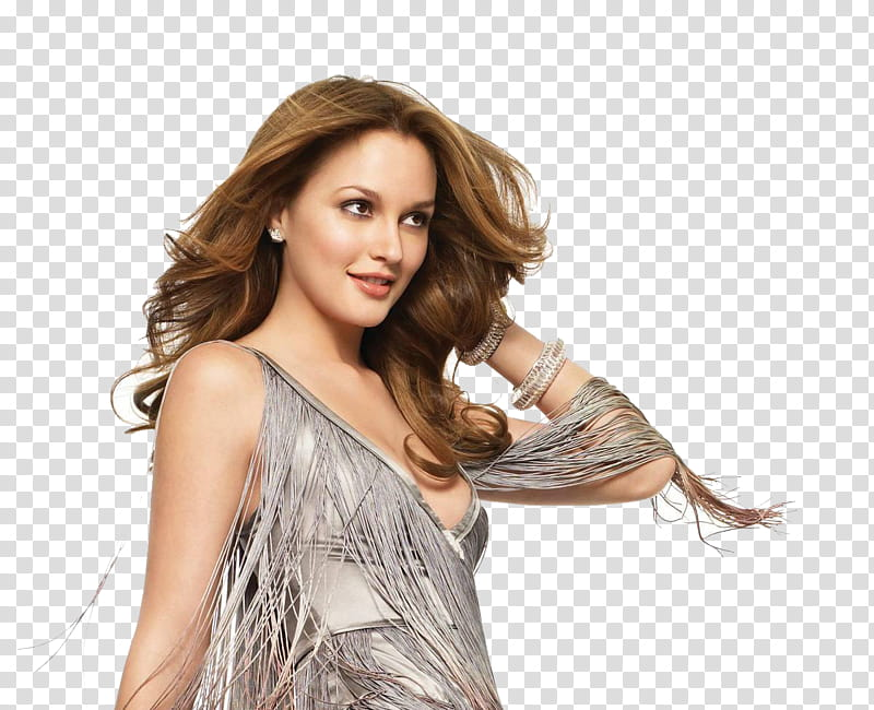 Leighton Meester transparent background PNG clipart.