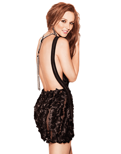 Download Free png leighton meester party dress.