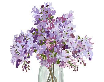 Lilac clip art.