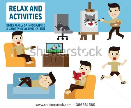 Leisure Activities Stock Images, Royalty.