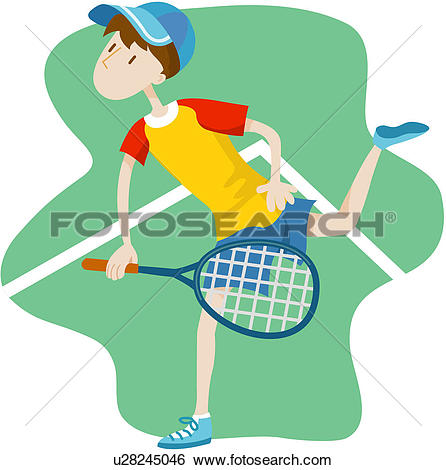 Clipart of exercising, leisure, health, healthiness, sports.
