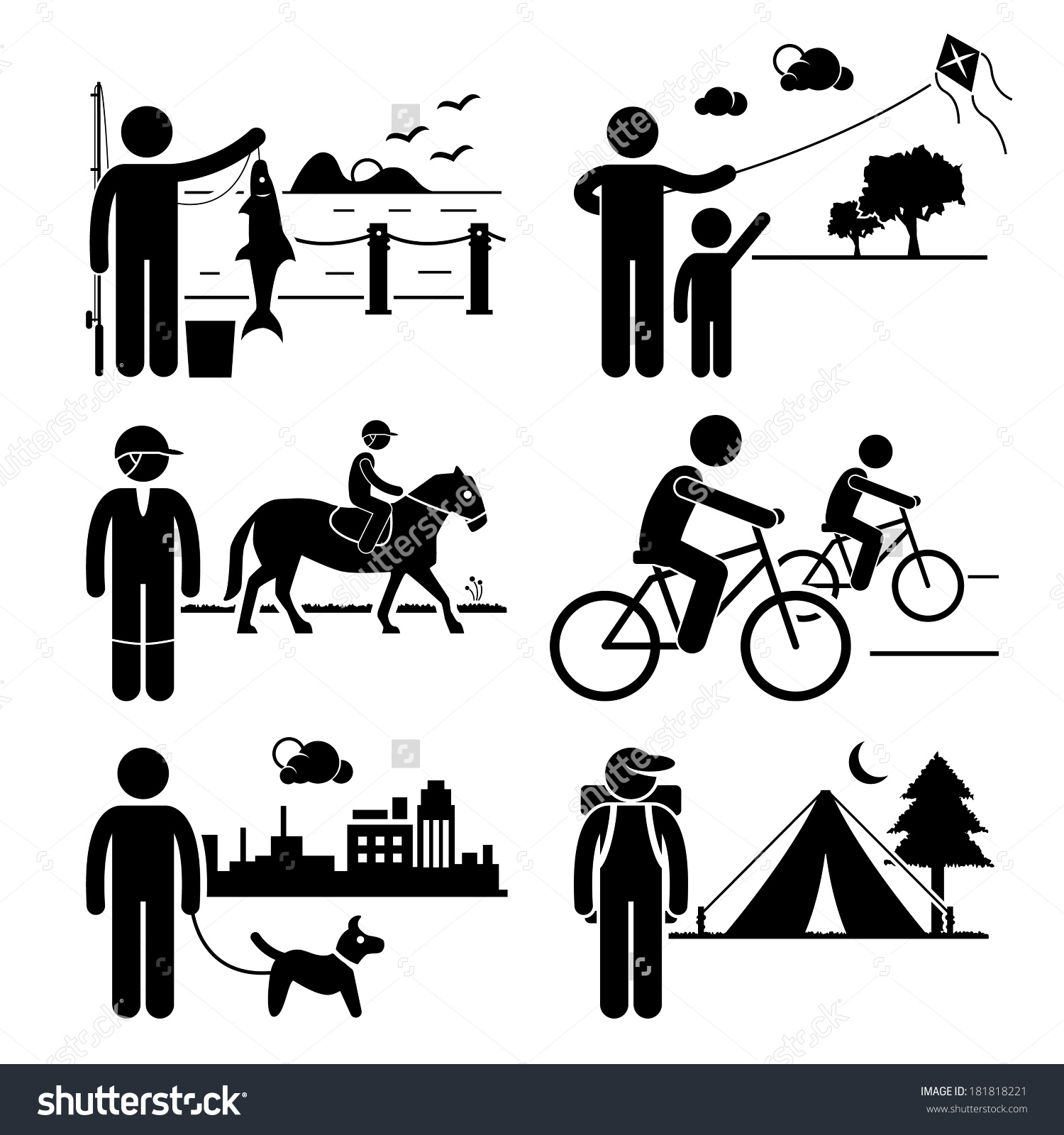 Recreation And Leisure Clipart.