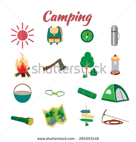Summer Camp Leisure Park Summer Camp Stock Vector 289947467.