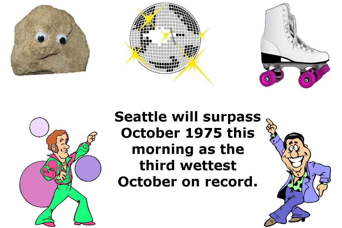 "NWS Seattle on Twitter: ""Break out the leisure suits, disco balls."