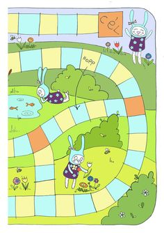 Chutes And Ladders Board Template Chutes and ladders board game.