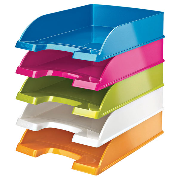 Leitz WOW A4 Letter Trays.