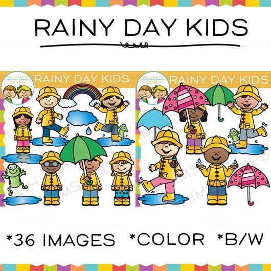 Rain clip art , Images & Illustrations.