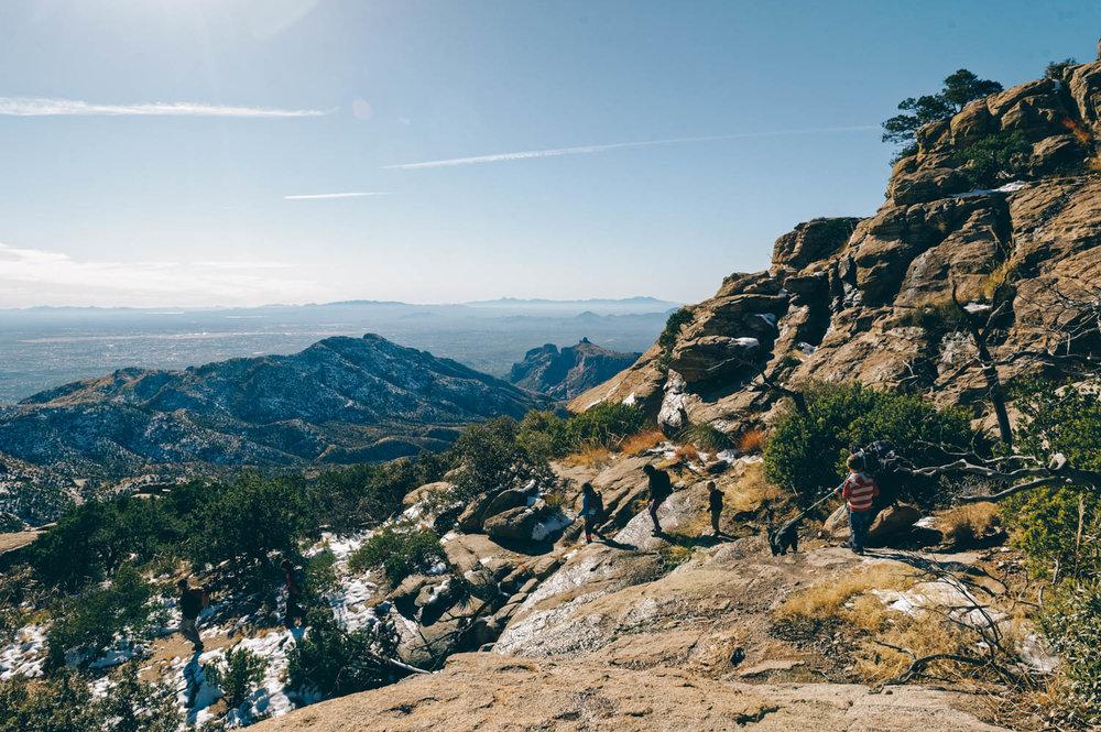 Rock climbing on Mt Lemmon, Tucson, AZ — Road it Up.