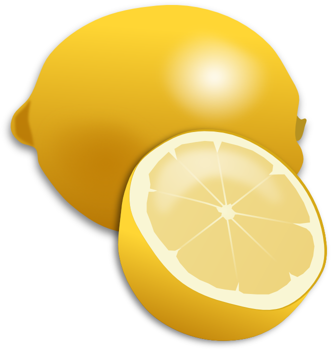 Lemon clip art 2.