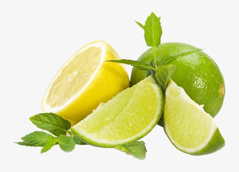 Lemon And Lime Png Black And White.