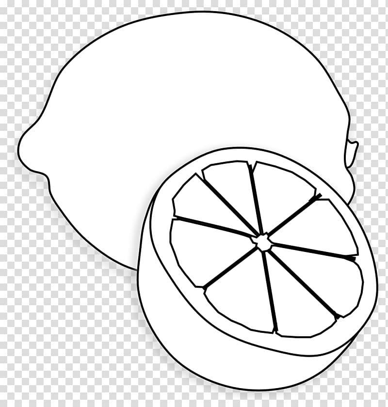 Sliced lemon drawing, Lemon Juice Black and white , Lemon.