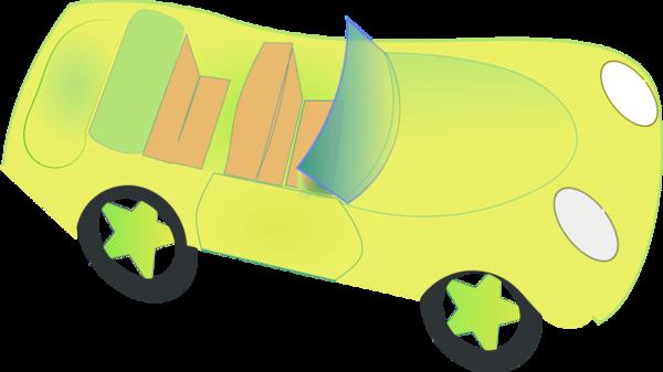 Lemon Car Transparent Clipart.