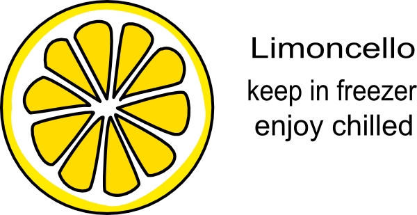 Limoncello Clip Art at Clker.com.