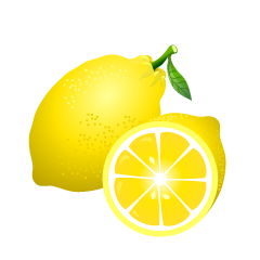 Free Cut Lemons Image|Illustoon.