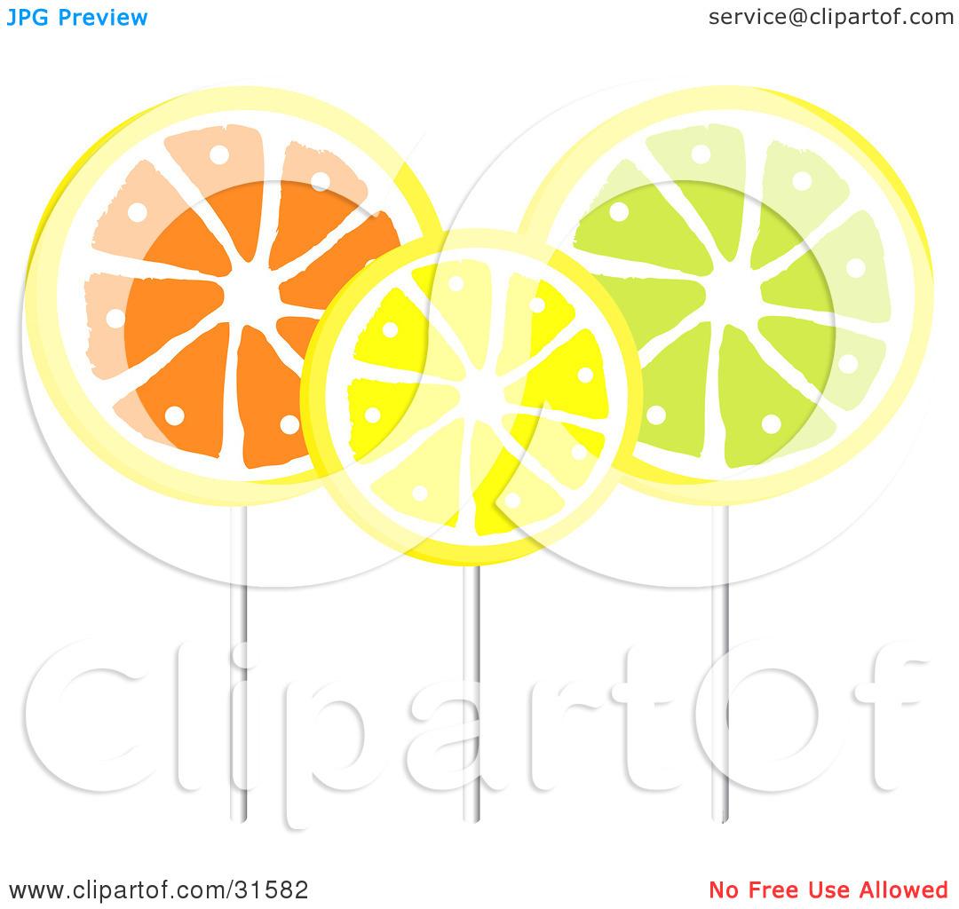 Lemon flavor clipart #15