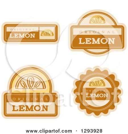 Lemon flavor clipart #13