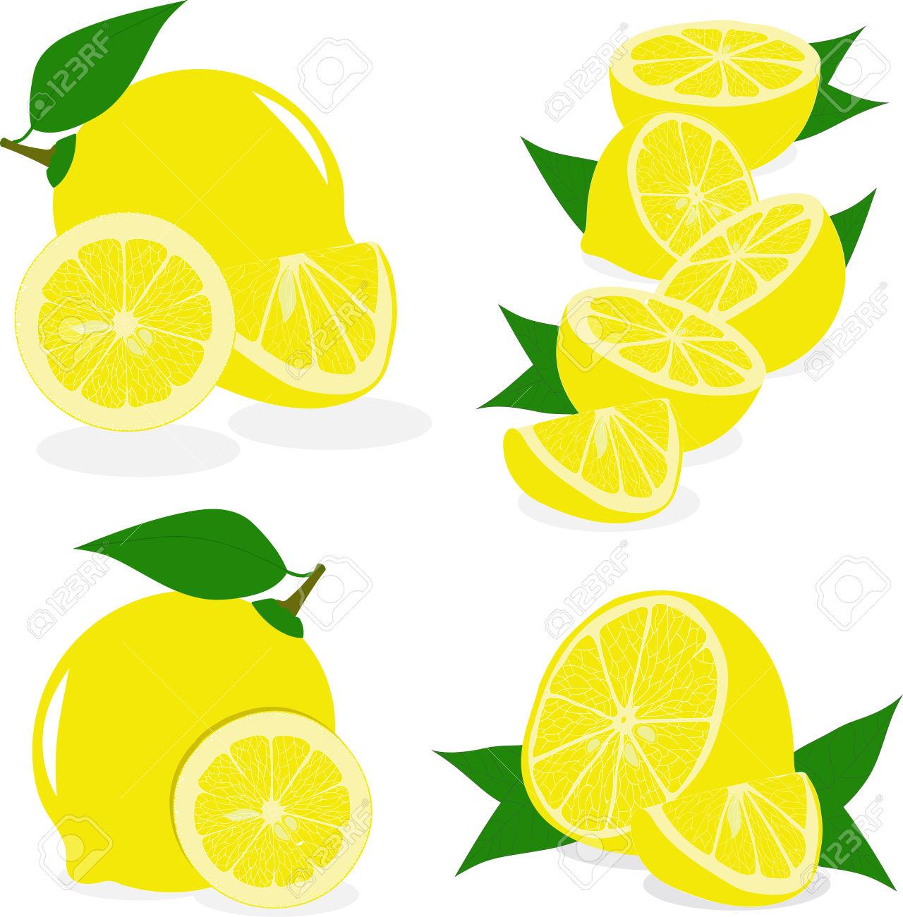Lemon flavor clipart #2