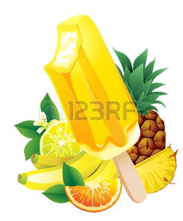 Lemon flavor clipart #6