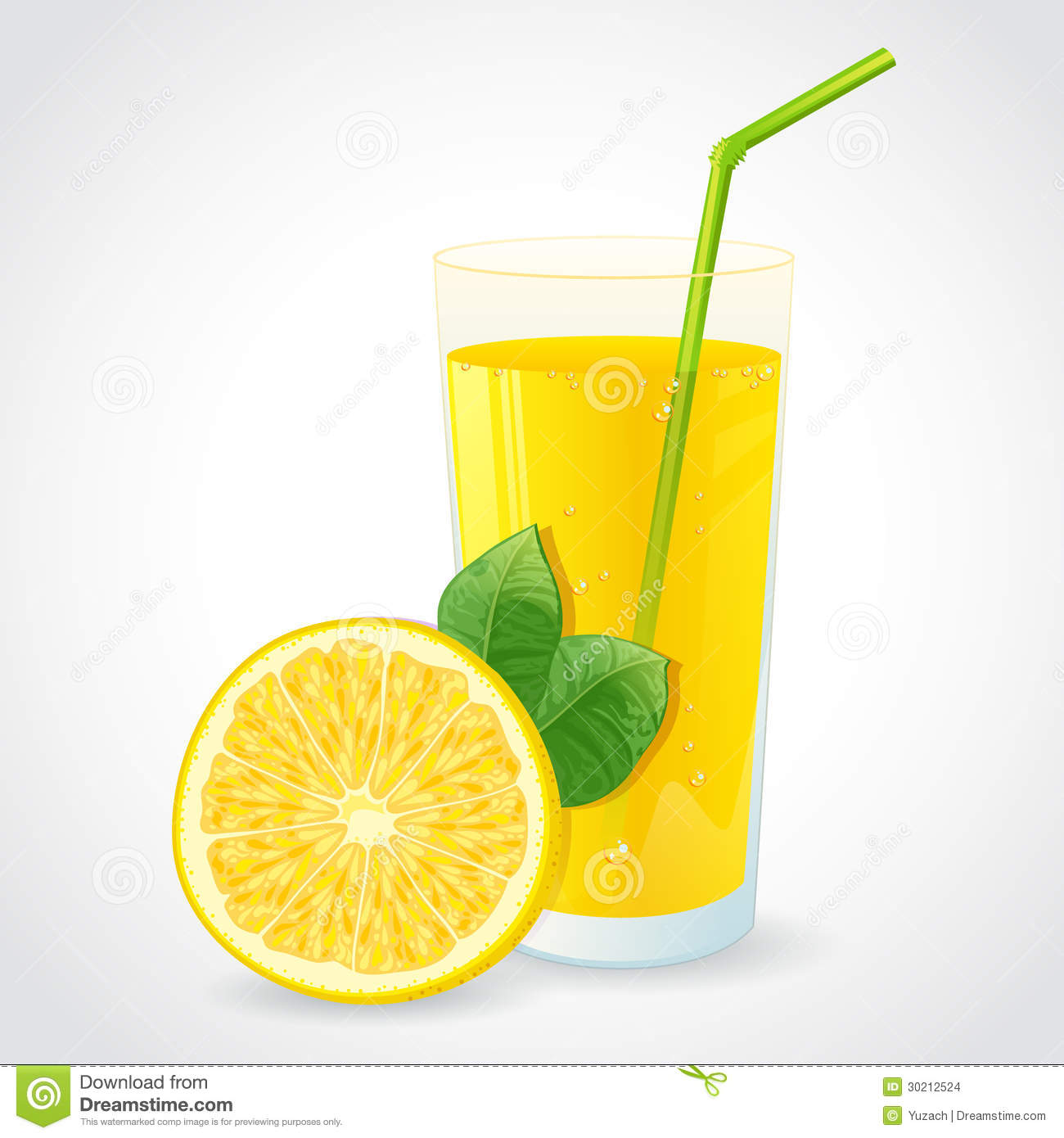 A Glass Of Fresh Lemon Juice And Half Of Yellow Le Stock Images.