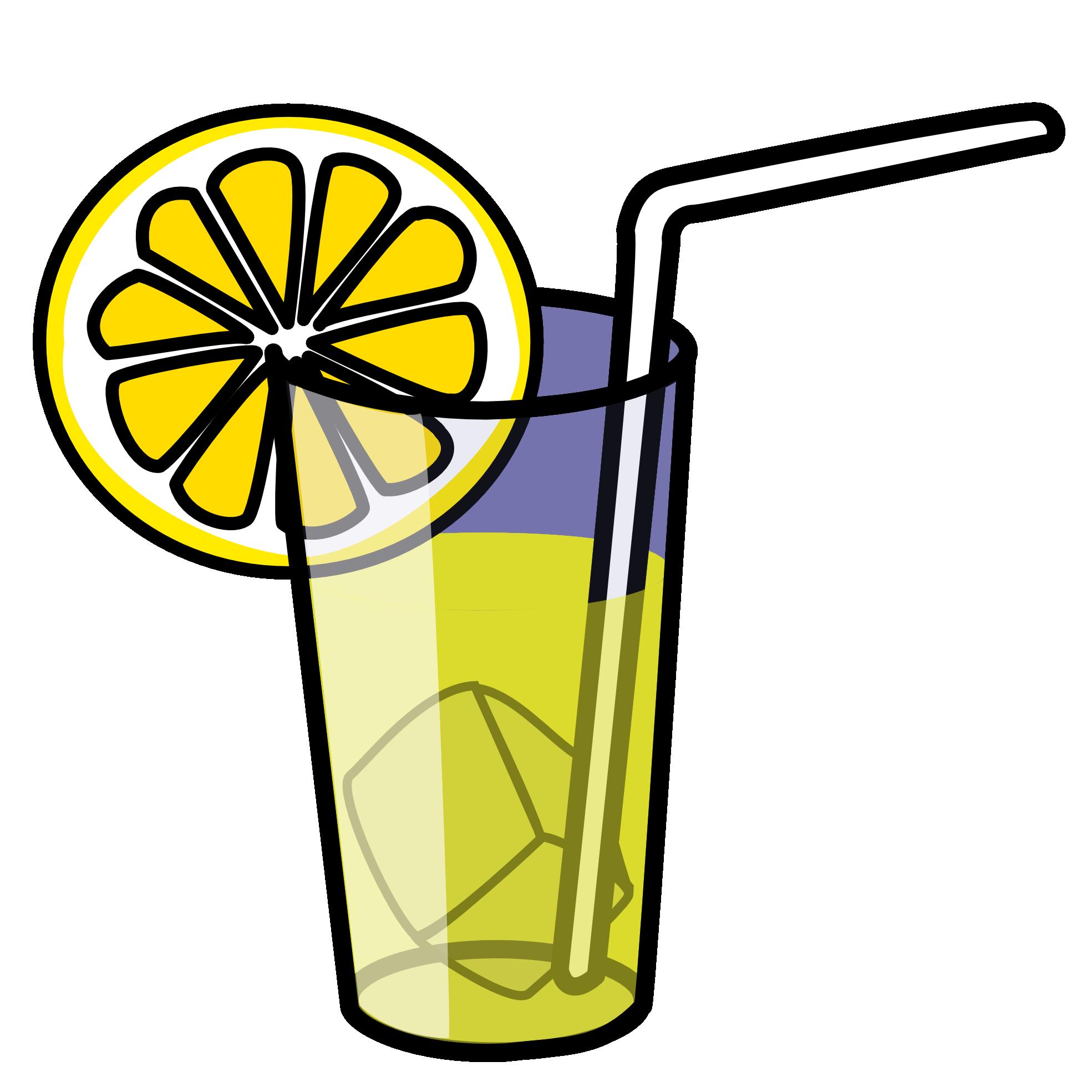 juice Lemon Clipart.