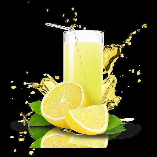 Lemon juice PNG Images.