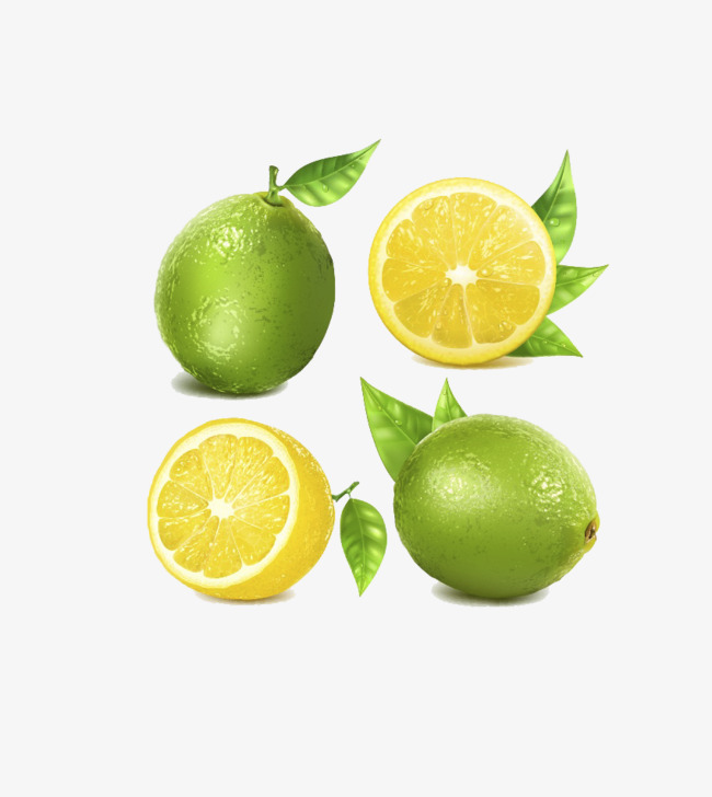 Lime And Lemon, Lemon Clipart, Leaf, Lem #108557.