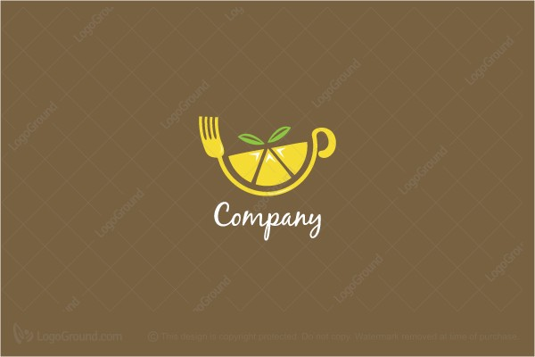 Exclusive Logo 73522, Lemon Cafe Logo.