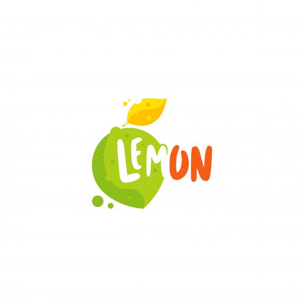 Lemon logo Vector.