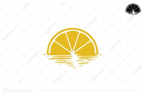 Exclusive Logo 113559, Lemon Sunset Logo.